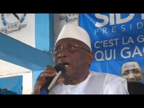 Sidya Touré contre la violation de la constitution guinéenne
