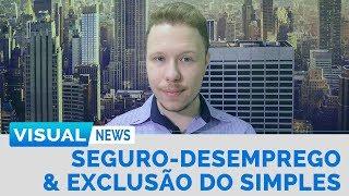 SEGURO-DESEMPREGO REAJUSTADO & EXCLUSÃO DO SIMPLES NACIONAL | Visual News