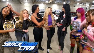 Billie Kay comes down with puppy fever and The IIconics can'…