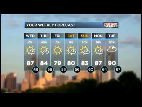 Charlotte Observer's Weather Forecast 05.20.15