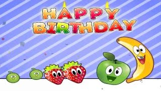 Joyeux Anniversaire - Happy Birthday Song In French for Children [HD]
