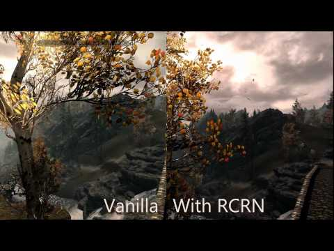 Skyrim Mod:  Realistic Colors And Real Nights (RCRN) By ALaaa, On Steam Workshop And Skyrim Nexus