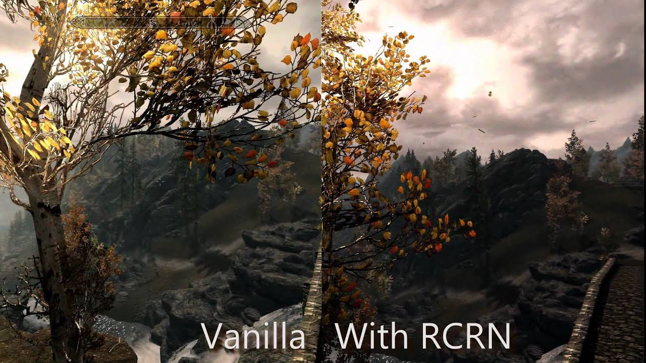 skyrim mod realistic colors and real nights rcrn by alaaa on