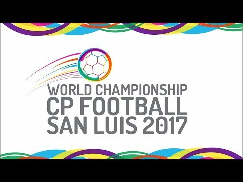UKRAINE vs IRAN - FINAL World Championships CP Football - SAN LUIS 2017