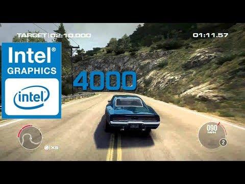 Grid 2 On Intel HD 4000 Benchmark