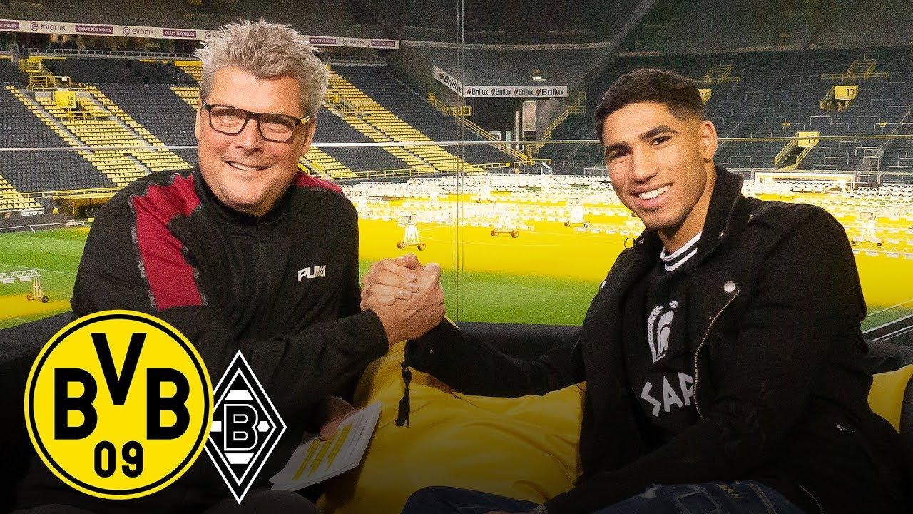 Bvb Frohe Weihnachten.Bvb Youngster Achraf Hakimi Joins Bvb Matchday Magazine Borussia Dortmund Gladbach