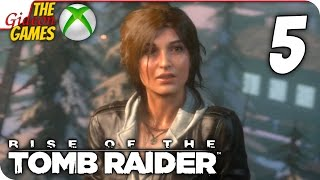 Прохождение Rise of the Tomb Raider на Русском [XBOne] - #5 (Союзники)