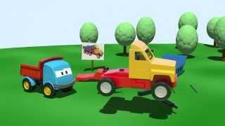 Spielen und Lernen: Leo und der große Lastwagen
