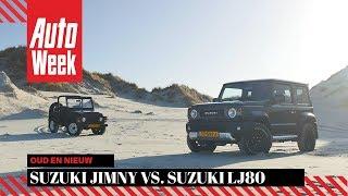 Suzuki Jimny vs. Suzuki LJ80 - Oud en Nieuw