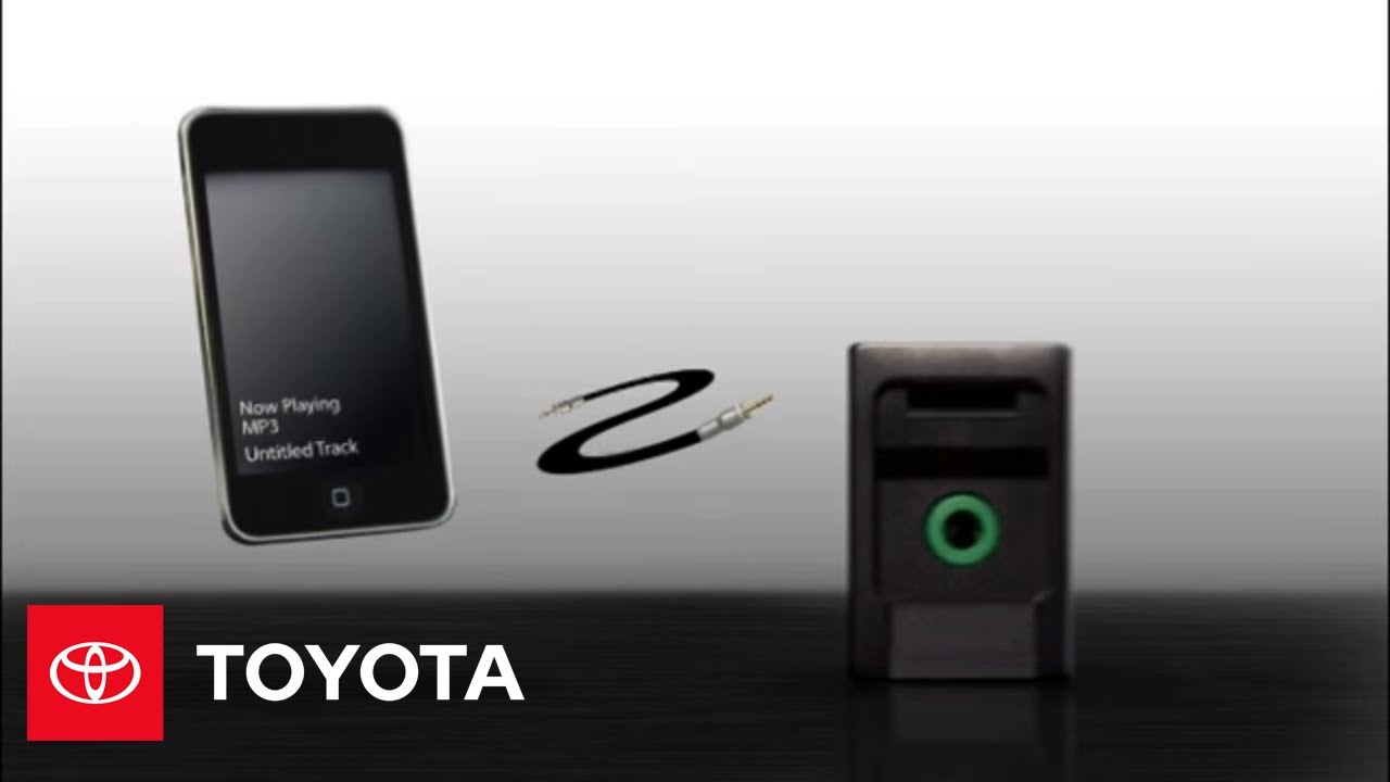 Toyota Corolla Owners Manual: Using the AUX port