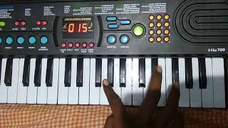 Rangabati odia sambalpuri song on piano instrument