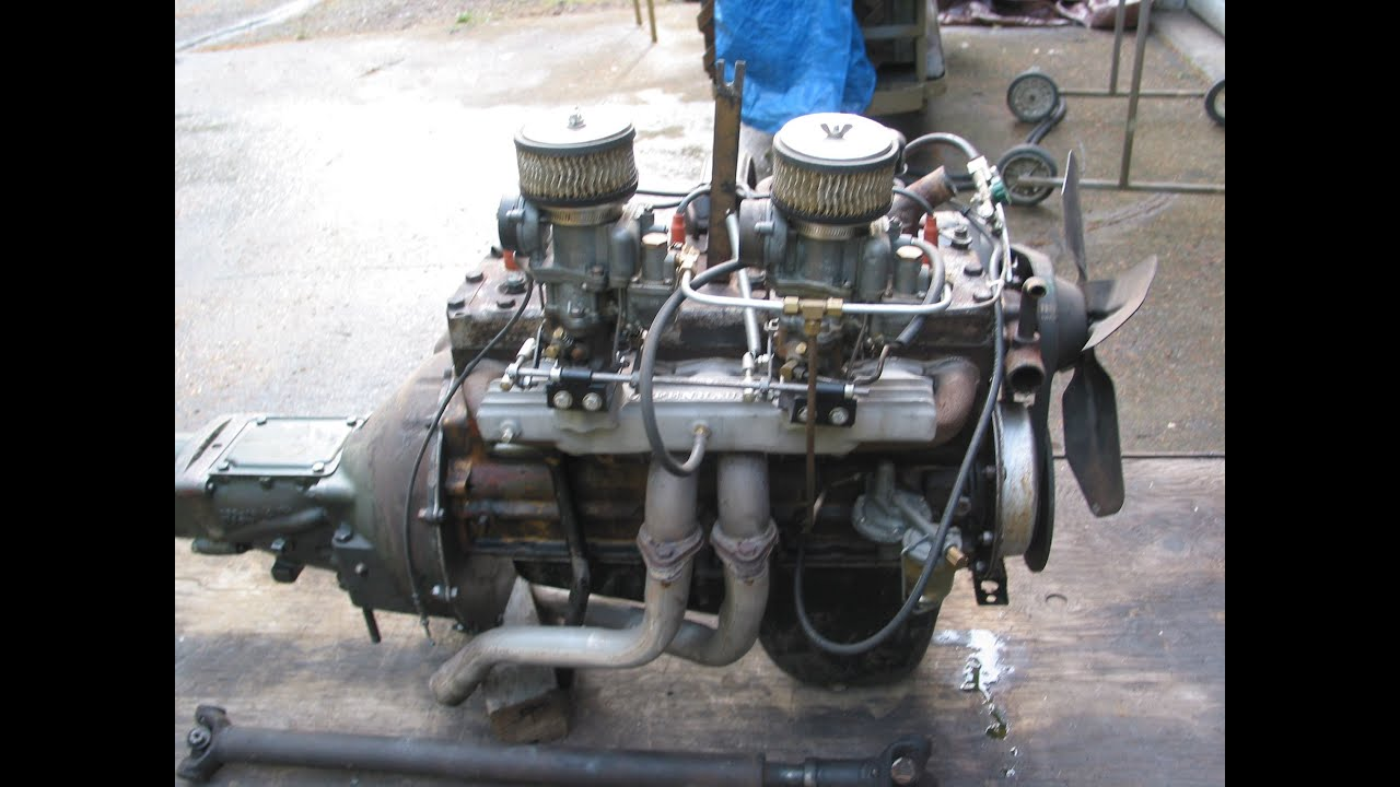 48 Studebaker Champion Motor Youtube