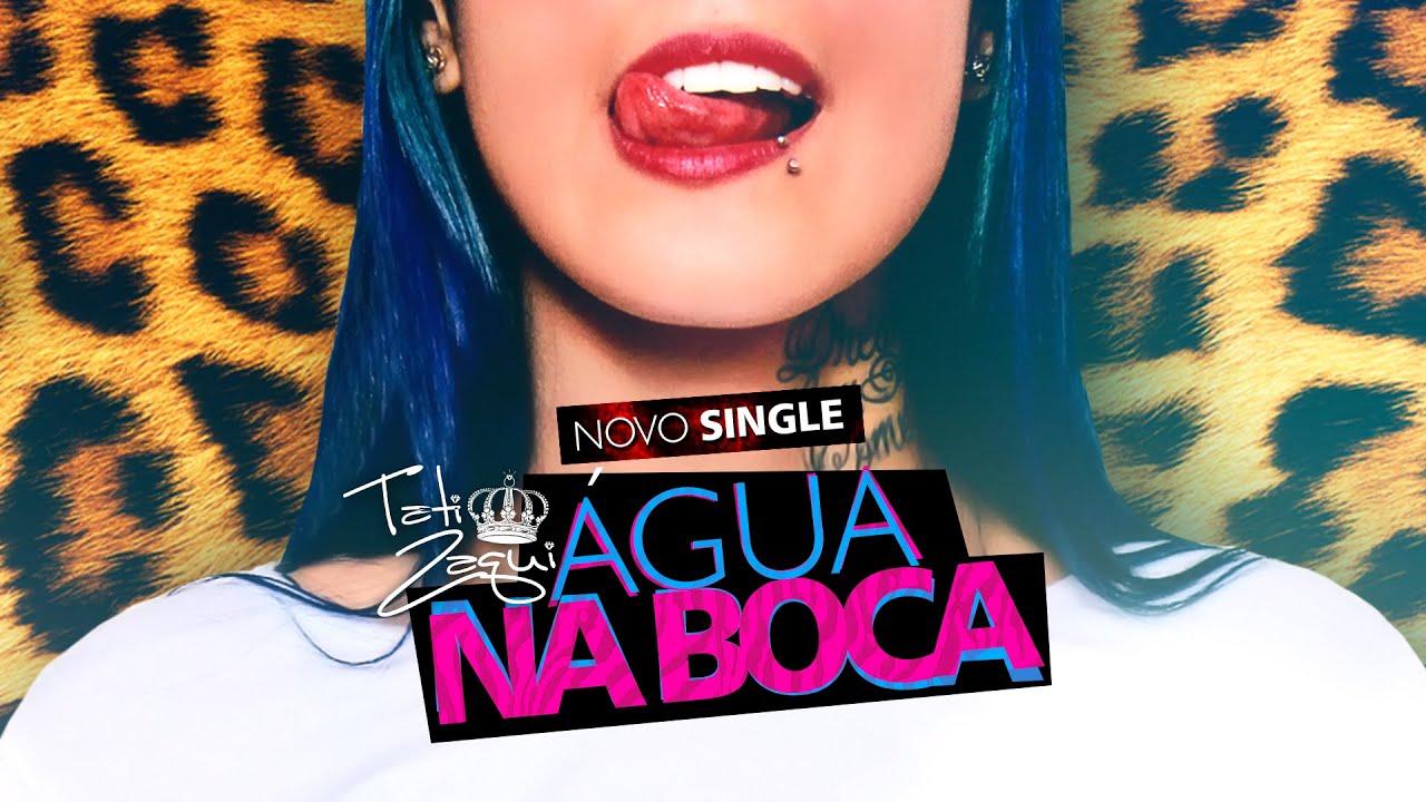 Tati Zaqui - Água na Boca (DJ Perera) (Lyric Video) - YouTube
