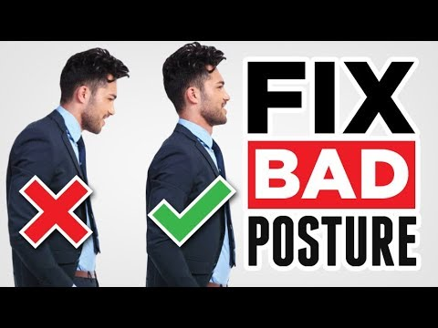 STOP Slouching! Improve Posture With 3 SIMPLE Exercises (Fix Bad Posture)
