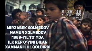 Mirzabek Xolmedov & Mamur Xolmedov-1989-yil To'yda ilk Break dance o'yini bilan xammani lol qoldirdi