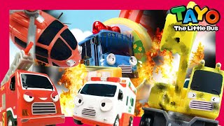 NEW! Tayo In Danger Series | Tayo Rescue Team Song | Brave Cars l Tayo the Little Bus