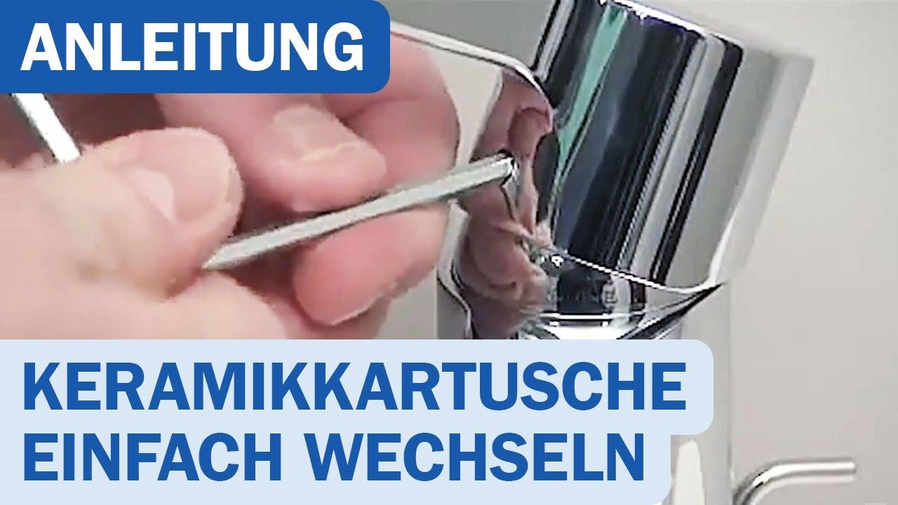 Anleitung Hansgrohe Keramikkartusche Einfach Austauschen Youtube