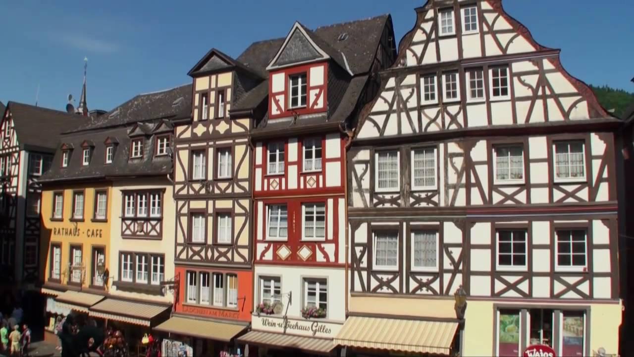 Cochem Stad Aan De Moezel In Duitsland Vakantie In Duitse Moezel