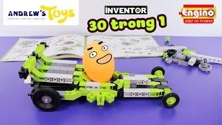 ENGINO INVENTOR Bộ đồ chơi 30 TRONG 1. Anh Khoai Tây được tặng quà!!! - ToyStation 29