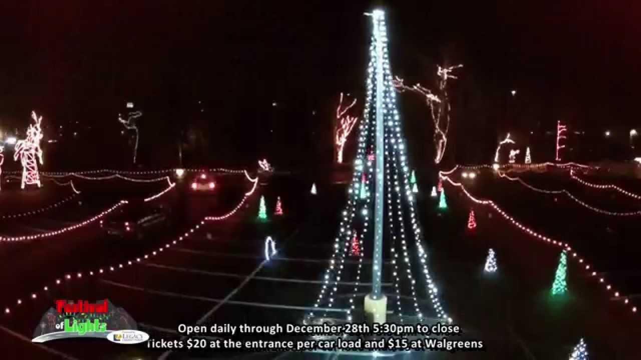 Oak Mountain Festival Of Light Going On Now! - YouTube