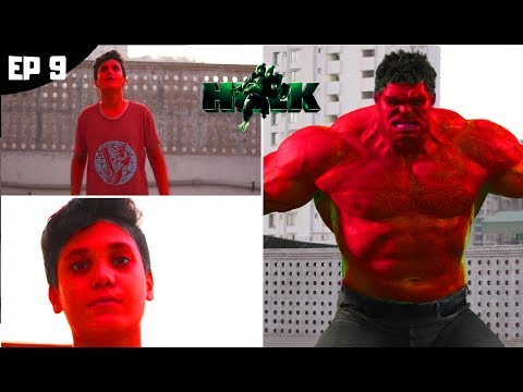 The Red Hulk Transformation In Real Life ( Episode 9) The Real Life Hulk