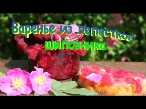 Варенье из Лепестков Шиповника Рецепт