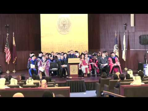 GU-Q New Student Convocation 2017
