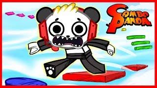 Roblox - Mega Fun Obby Let's Play avec Combo Panda!