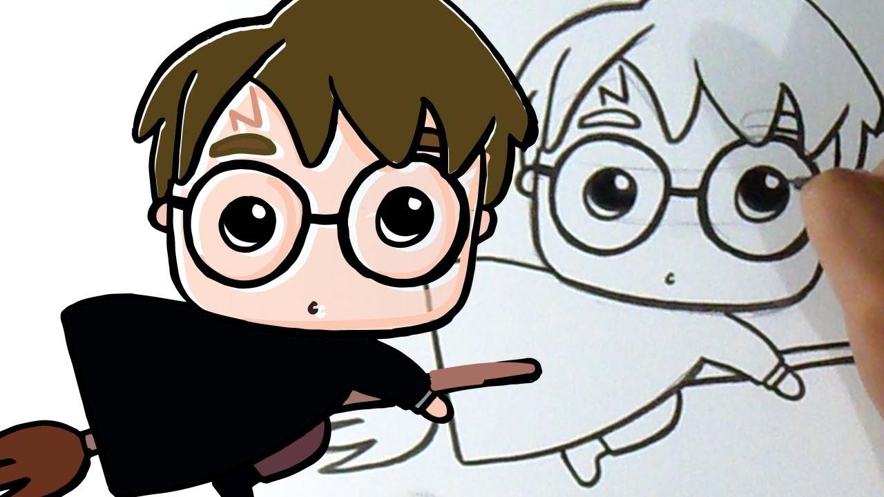 Cómo Dibujar A Harry Potter Kawaii
