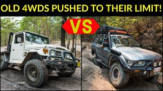 old-4wd-challenge-huge-rock-steps-winching-chaos-and-ridiculous-beach-camping