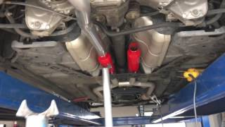 g35 coupe with truel dual exhaust