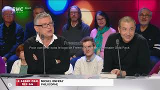 Michel Onfray mariage - Les grandes gueules - RMC Story - 11/01/2019