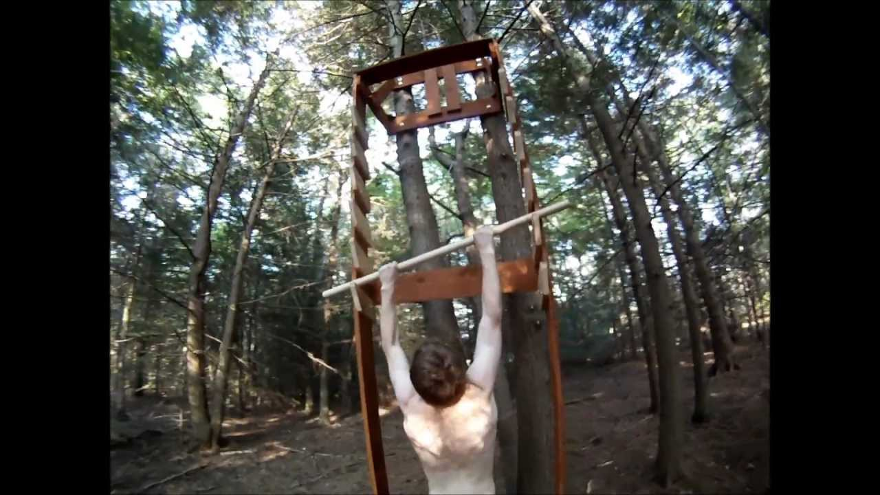 End of summer salmon ladder and home made obstacle course youtube