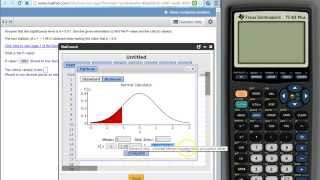 Using stat crunch to find a p-value given a test statistic