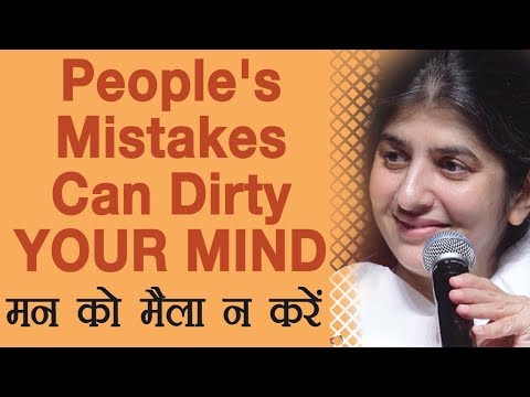 People's Mistakes Can Dirty YOUR MIND: Ep 38: BK Shivani (Hindi)