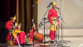 Индонезия. Interfolk in Russia. Tanzen. People.
