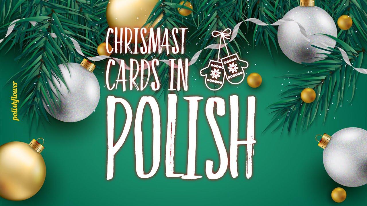 Send Christmas Card in Polish ! - YouTube