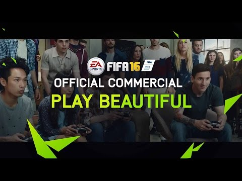 FIFA 16 - Play Beautiful - Official TV Commercial