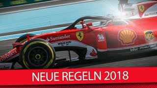 Formel 1 2018: Das ist neu im technischen Reglement thumbnail