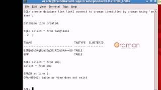 كيفية إنشاء قاعدة بيانات روابط