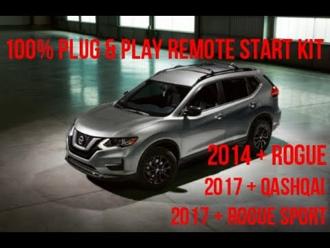 Nissan Rogue Remote Start >> Nissan Rogue 100 Plug Play Remote Start Kit Full Install Video