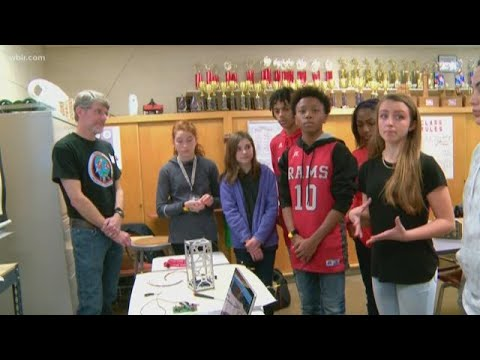 Robertsville Middle School to launch satellite into space