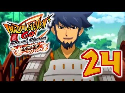 Let's Play Inazuma Eleven Go Chrono Stones Brasier FR #24 La Forteresse de Zhuge Liang