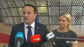 Irish leader: Brexit deal not up for renegotiation | Street Signs Europe