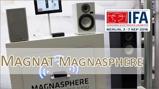 IFA 2016: Magnat Magnasphere Multiroom - Hands on