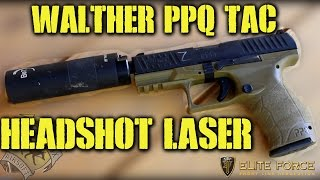 Elite Force Walther PPQ TAC: Headshot Laser Gun (Intrigue Airsoft Kansas City)