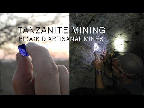 Tanzanite Mining in Block D, Merelani, Tanzania