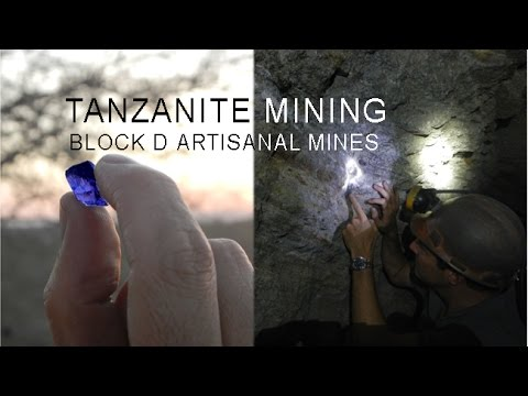 description steve makes trip to tanzanite pages jewelry pile on the mining tanzania mines image dump