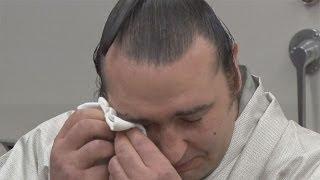元大関琴欧洲が引退 「お相撲さんになって良かった」 Bulgarian sumo wrestler Kotooshu retires