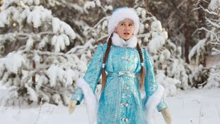 Снег засыпает. Ляйсан Валинурова. Песня Шуши из м/ф